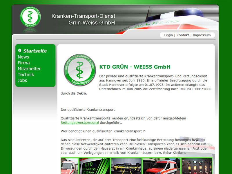 Krankentransport und Rettungsdienst KTD GRÜN-WEISS GmbH