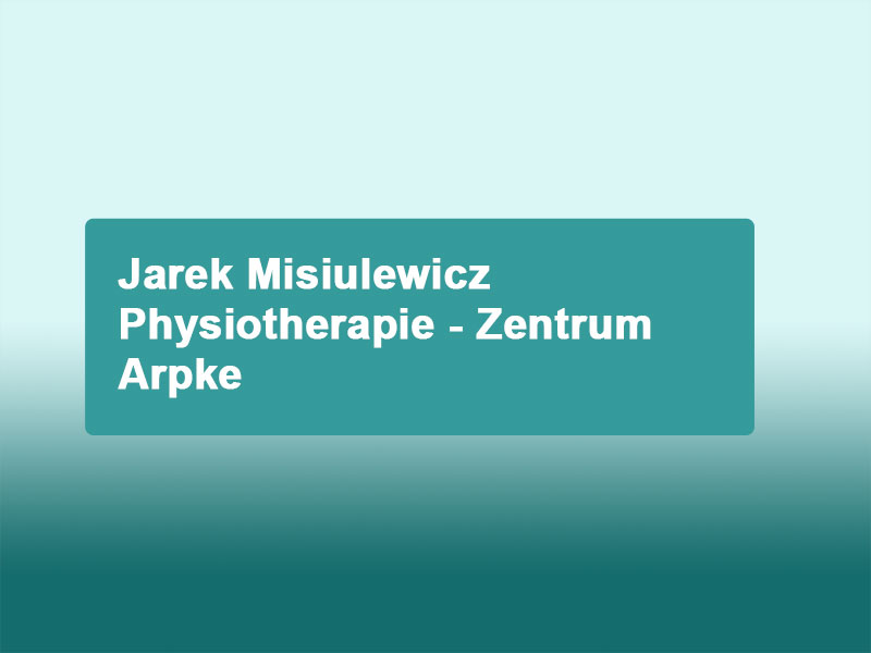 Physiotherapie in Arpke